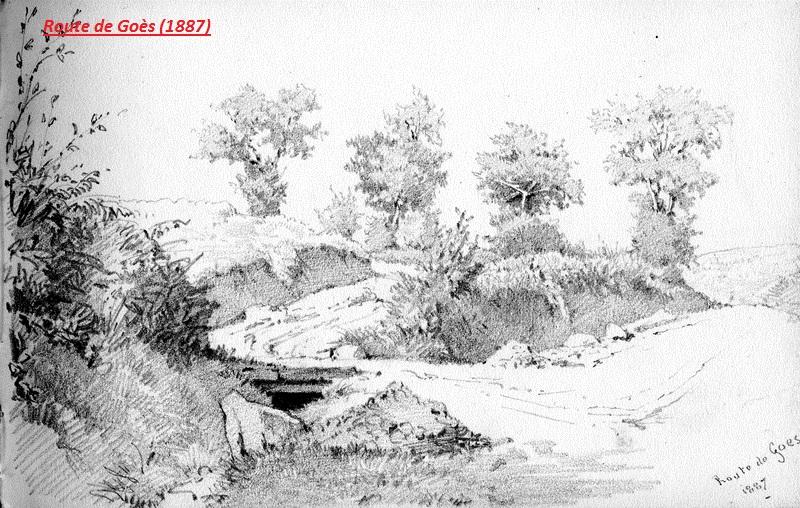 Route de Goès (1887)