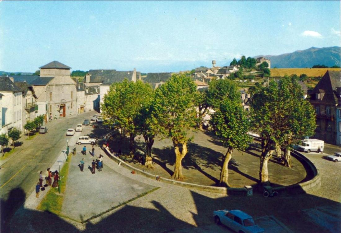 La place Saint-Pierre et ses platanes